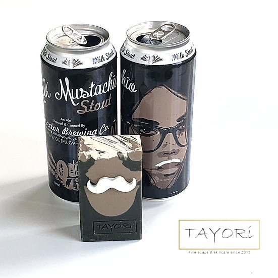 Mustachio Beer Soap | 3 oz