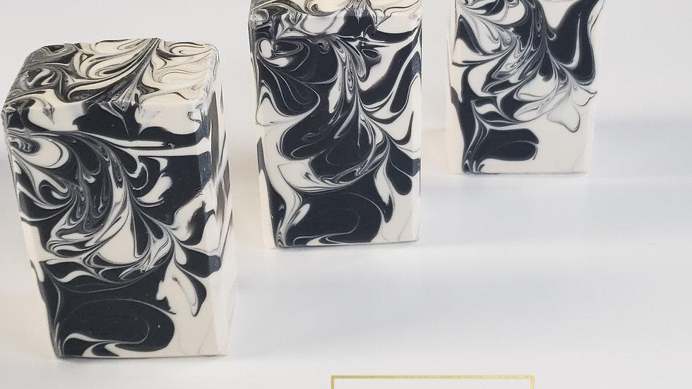 Black & White Lemon Lavender Bar Soap | 5 ozs