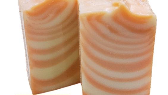 Olive Oil & Orange VEGAN Soap   3.5 ozs