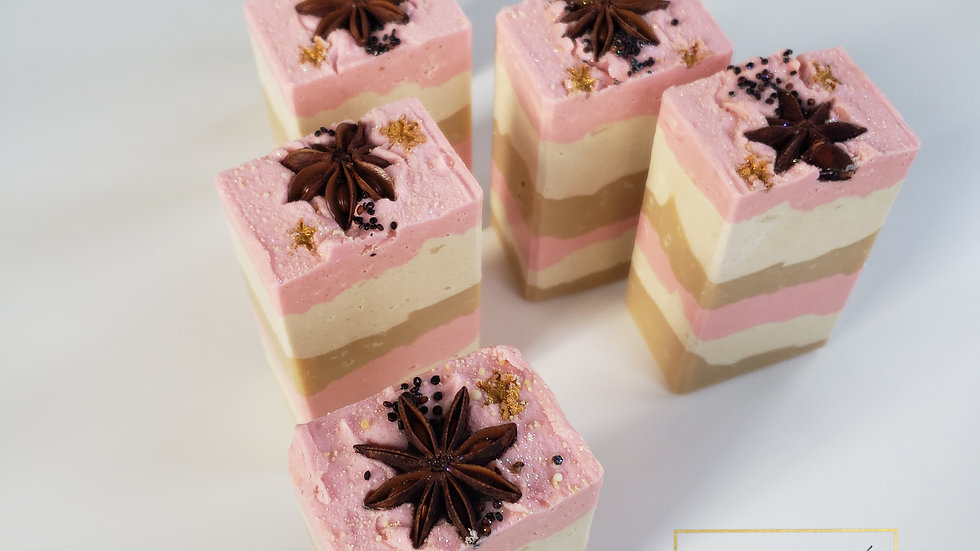 Neopolitan Bar Soap | 4.5 ozs