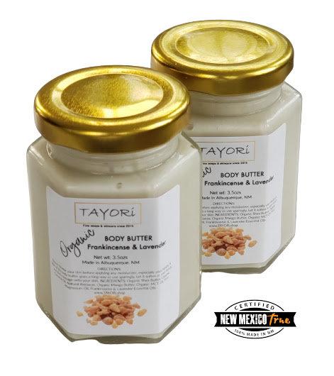 Organic Body Butter - Frankincense Lavender | 3.5 ozs