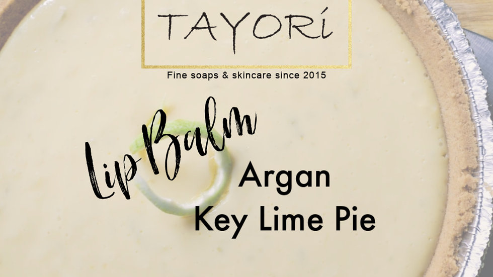 ARGAN KEY LIME PIE LIP BALM | 0.15 oz