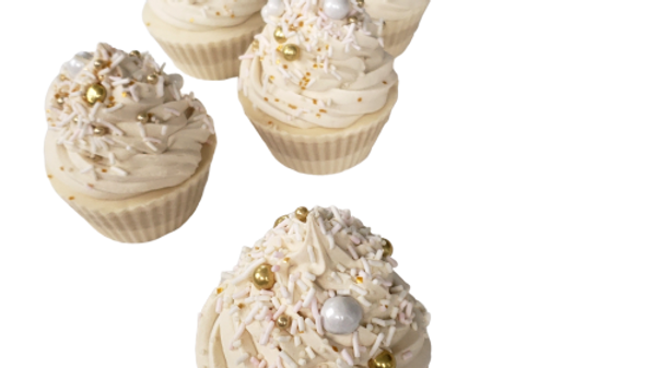 Pearls and Promises Cupcake Soap | Size options
