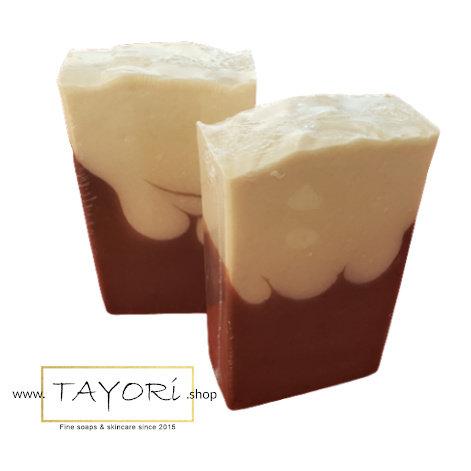 Mint Chocolate Goat Milk Bar Soap   4 ozs