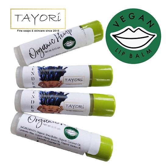 Organic Hemp Lip Balm | VEGAN Lavender