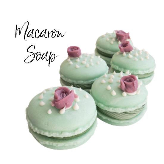 Cactus Macaron Vegan Soap | 2 ozs