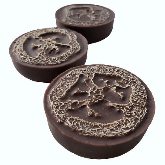 Organic Chocolate Loofah Soap | 2.4 ozs