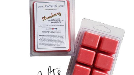 Strawberry Natural WAX MELTS   3 oz Clamshell