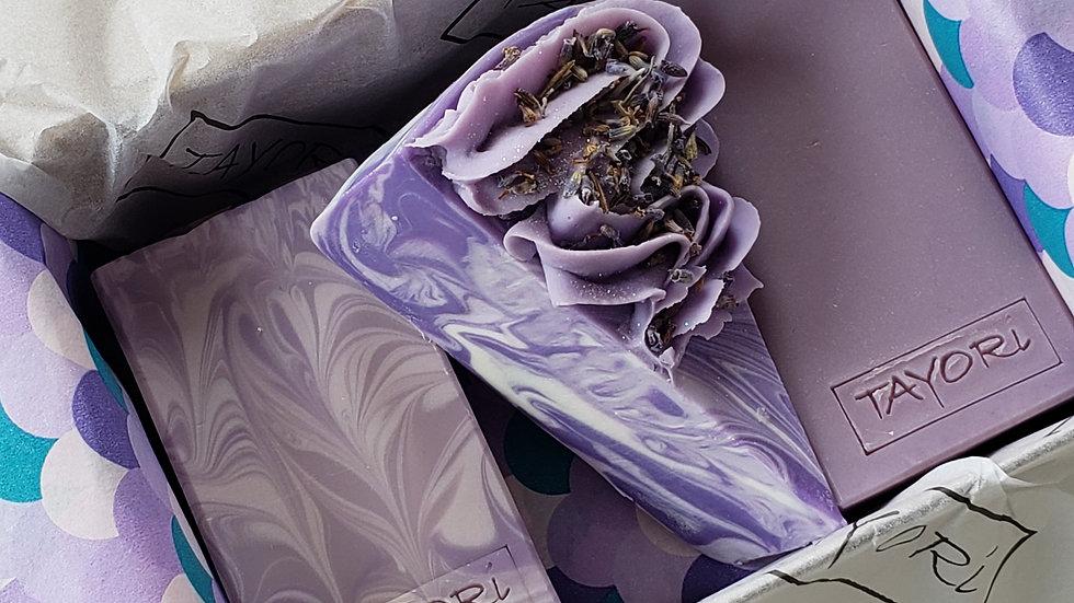 I Love Lavender Soap Set