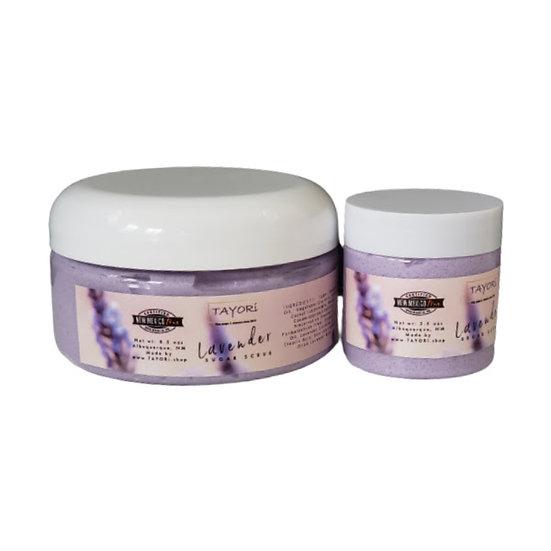 Sugar Scrub | Lavender 2.5 oz or 8.5 oz