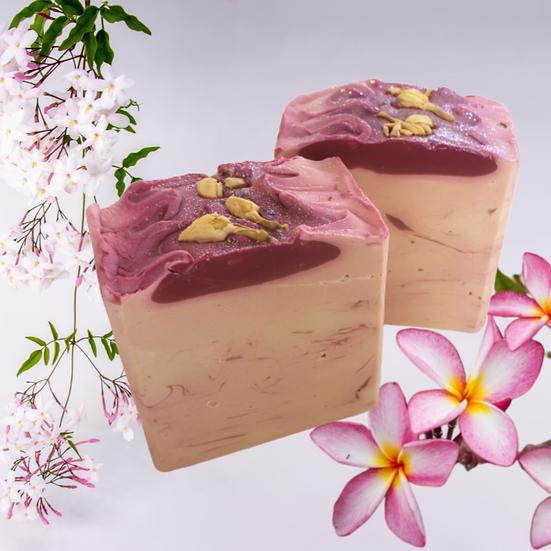 Frangipani & Jasmine Bar Soap | 5.5 ozs