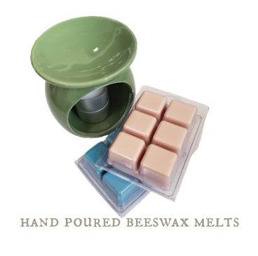 Natural WAX MELT Starter Kit with 2 x 3 oz Clamshells