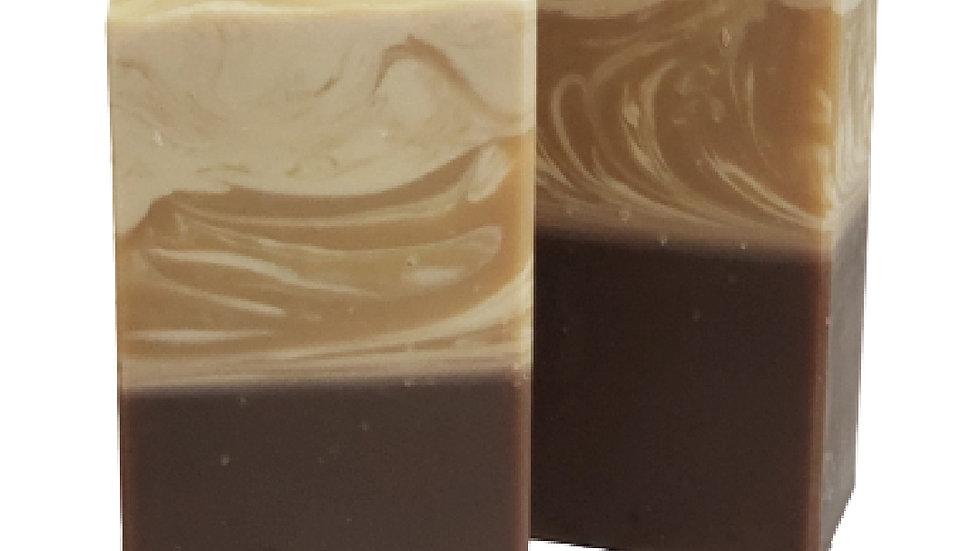 Vanilla & Caramel Corn Bar Soap   4.5 oz