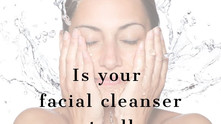 Is your facial cleanser actually causing damage?