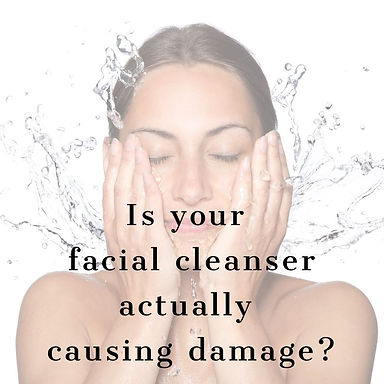 Is your facial cleanser actually causing