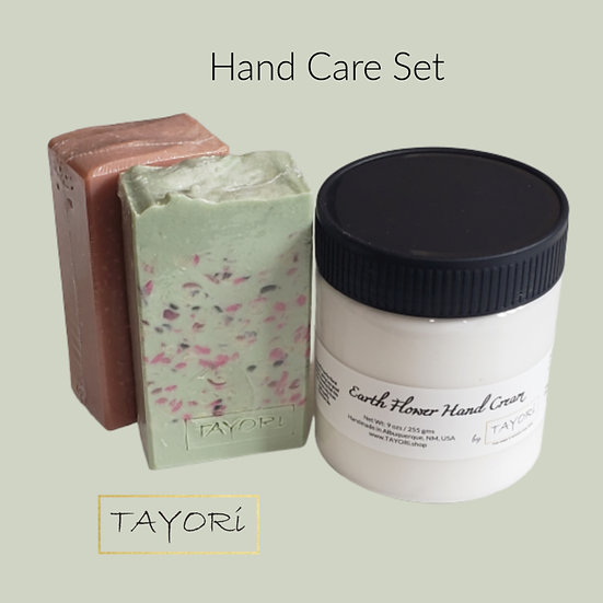 Hand Care Package   2 natural soaps & hand cream