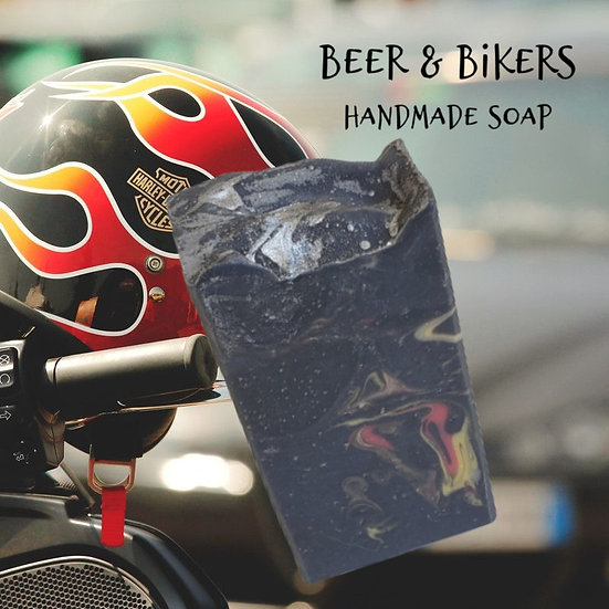 Beer & Bikers Natural Soap | 4 ozs or 4.5 ozs