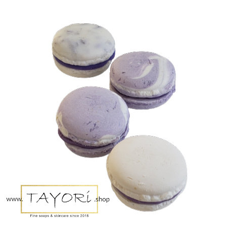 Lavender Essential Oil Macaron Soap | 2 ozs