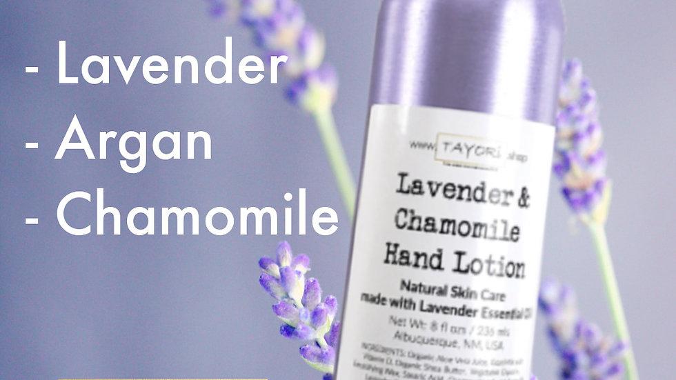 Lavender & Chamomile Hand Lotion | 8 fl ozs