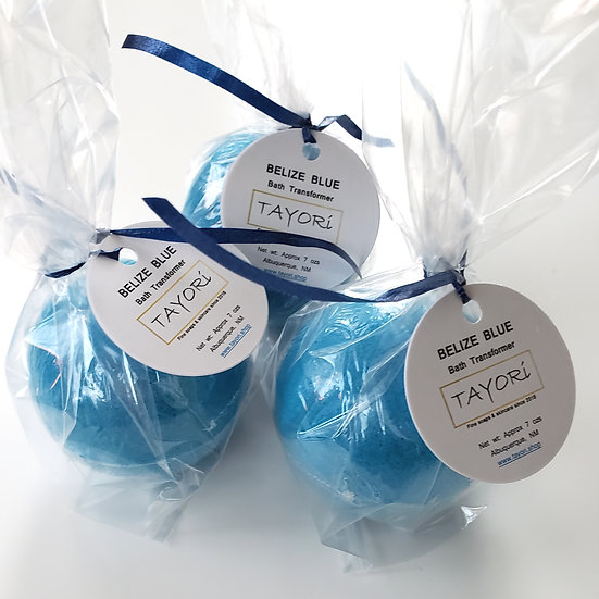 Belize Blue Bath Transformers | 2.5 in or 2.75 in diameter