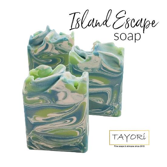 Island Escape Bar Soap   4.5 oz or 5 oz