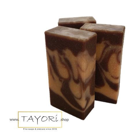 ORGANIC CHOCOLATE ORANGE Vegan Soap    3.5 oz or 4oz