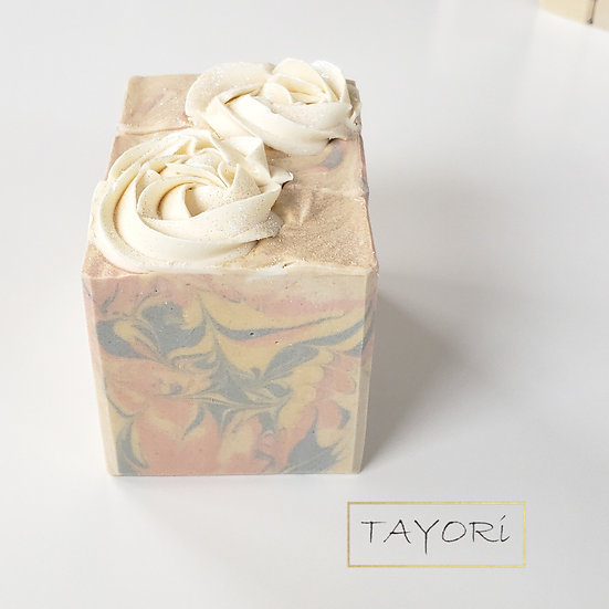 Rosette Pastel Vegan Soap | 5 ozs