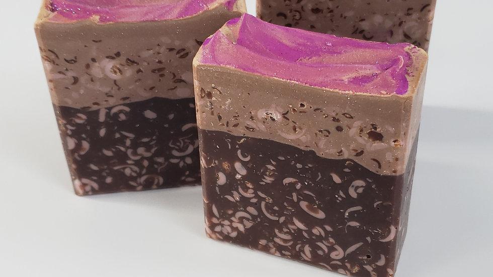 Chocolate Lavender Bar Soap | 4.5 ozs