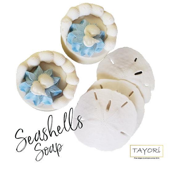 Sand Dollars & Seashells Soap | 5+ ozs