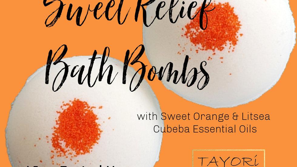 "65 mg CBD Bath Bombs with Citrus Blend | 2.5"" diameter"