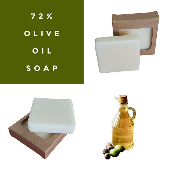 72% Olive Oil VEGAN Guest Soap