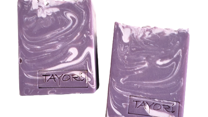 Orchid Purple Bar Soap   4.5 ozs