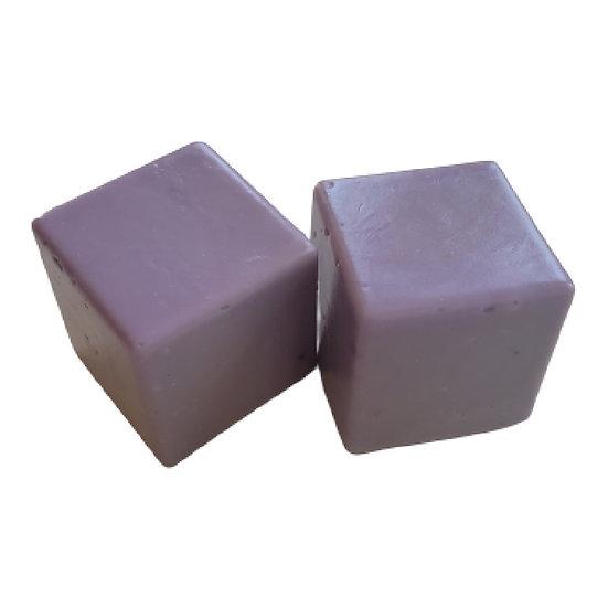 Olive Oil VEGAN Soap Cubes - Lavender   5+ ozs