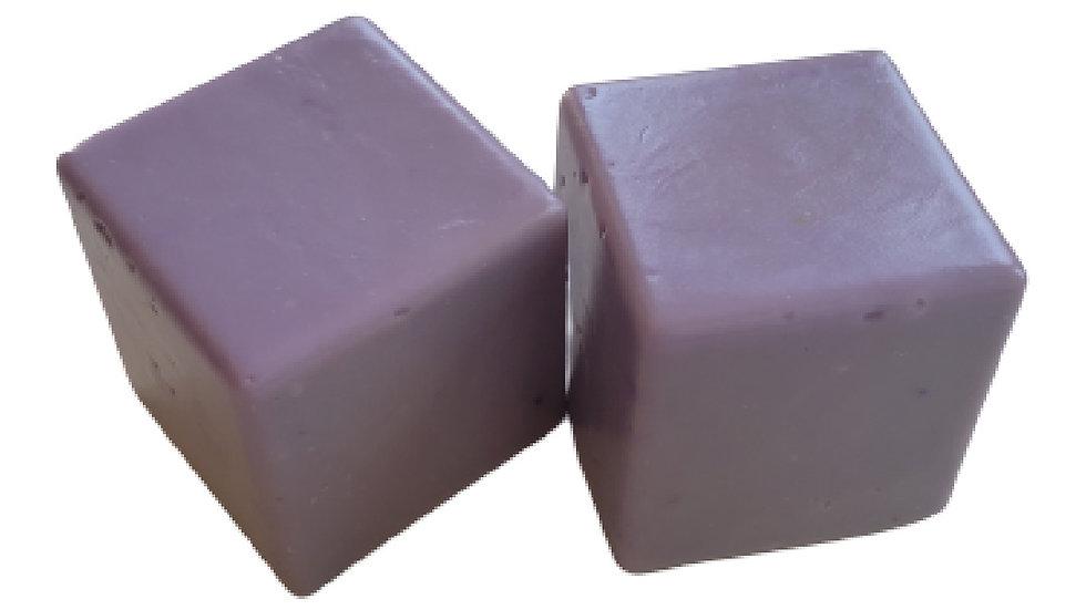 Olive Oil VEGAN Soap Cubes - Lavender | 5+ ozs