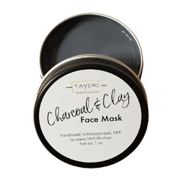 Charcoal Chocolate and Clay Face Mask | 1 oz or 2 oz