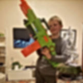 Jackson with his big Nerf gun.jpg