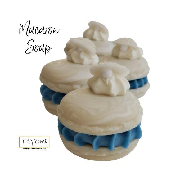 Mother of Pearl Macaron Soap (Vegan) | 2 ozs
