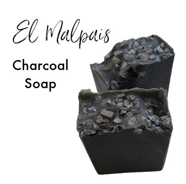 El Malpais Vegan Charcoal Soap | 3.5 ozs
