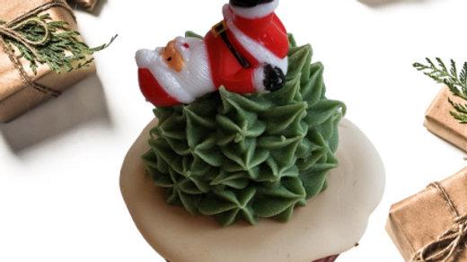 Santa Soap Cupcakes | Pilates