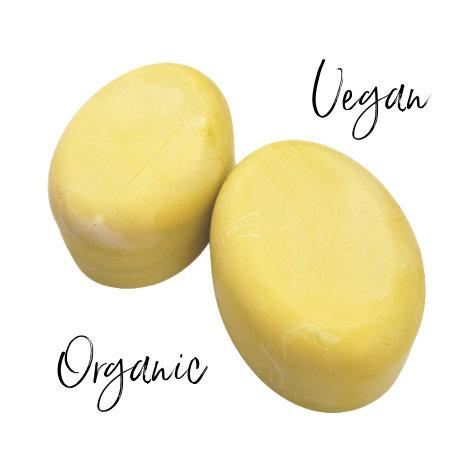 VEGAN ORGANIC Unscented Bar Soap | 3 oz or 3.5 oz or 4.5 oz