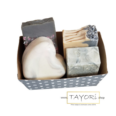 Four Shades of Gray Soap Gift Set