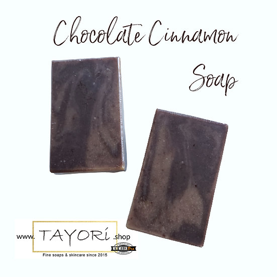 Organic Chocolate Cinnamon Vegan Soap | 4 ozs