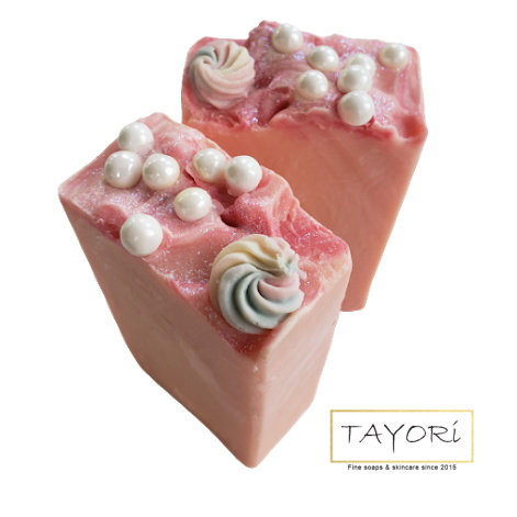 Pearls and Pinks Bar Soap | 4.5 ozs