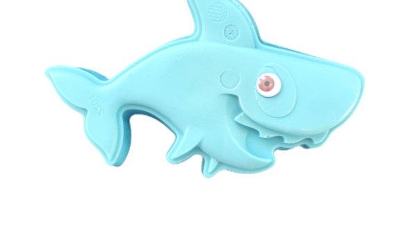 Neon Blue Shark Bar Soap   11+ ozs