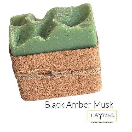 Black Amber Musk Big Hand Soap | 5.5 ozs
