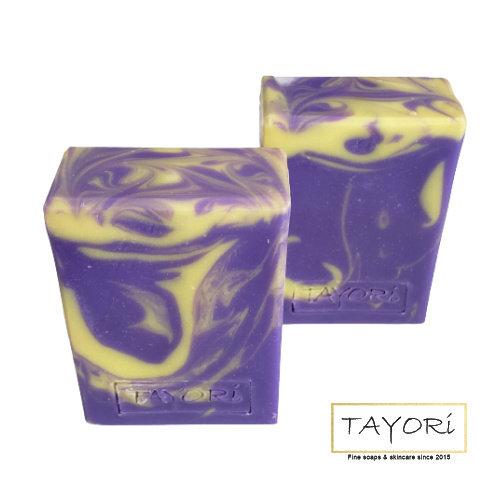 Organic Vegan Lavender Lemon Bar Soap | 3 ozs