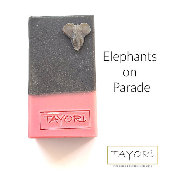 Elephants on Parade Beer Soap | 4.5 ozs