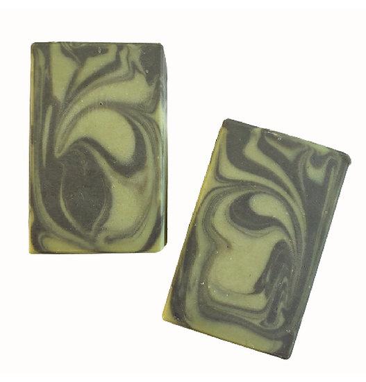 Green Tweed Man Bar Soap   4 ozs