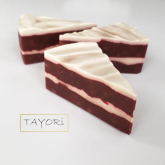 Red Velvet Soap Cake | 4 ozs