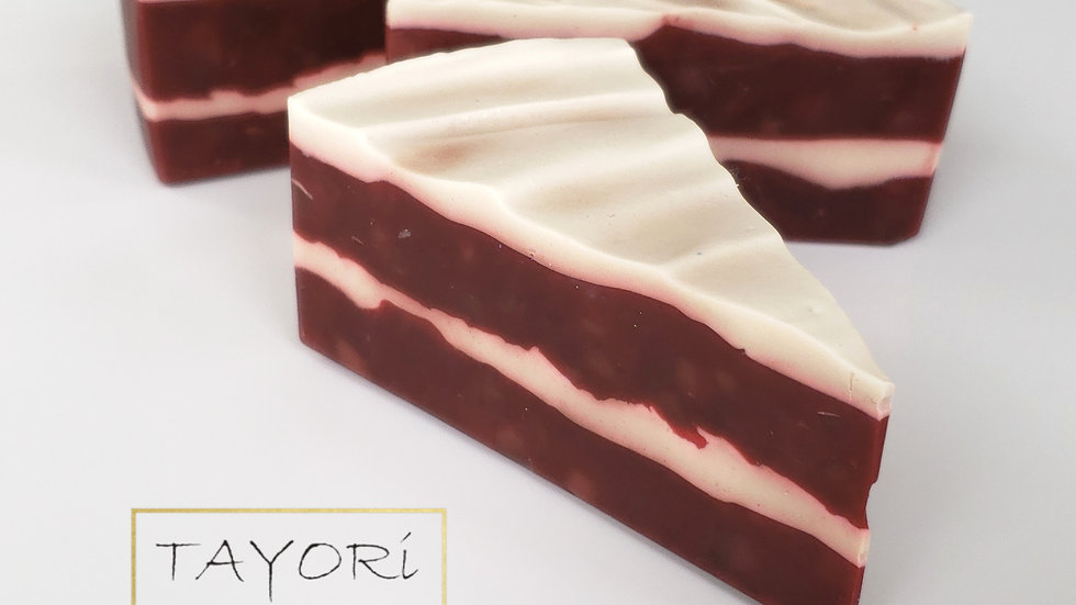 Red Velvet Soap Cake | 4 ozs